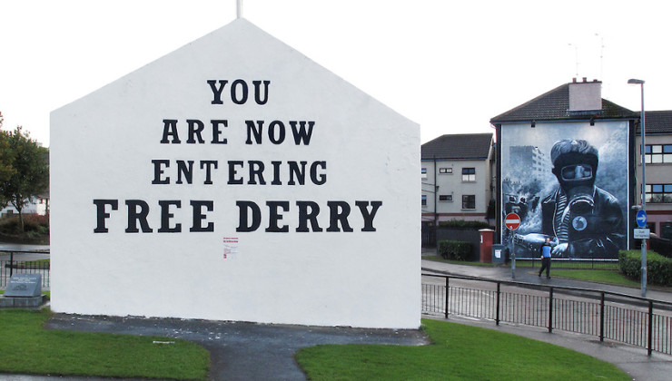 Derry - Free Derry Wall